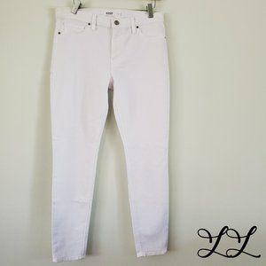 NWT Hudson Jeans White Nico Super Skinny Ankle